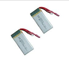 2 Pieces 7.4V 1200mAh 30C Lipo Battery For MJX X101 RC Quadcopter FPV Drone