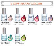 LeChat Mood Changing Gel Nail Polish 6 Colors Set (MG37 - MG42)