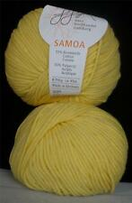 COTTON ACRYLIC GGH SAMOA MEDIUM WORSTED WEIGHT 50 GR 10 BALLS FULL SUN (12O)
