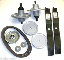 "Murray 42"" Deck Rebuild Kit Includes Spindle / Blades / Belt / Pulleys /Adapters"