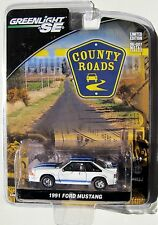 GREENLIGHT COUNTY ROADS SERIES 7 1991 FORD MUSTANG GT