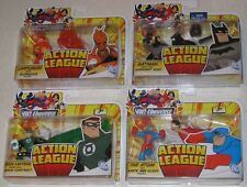 Action League LARFLEEZE Batman PLASTIC MAN Atom GREEN LANTERN DC Universe Mattel