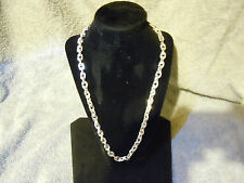 "WOW 24"" PURE SILVER .999 4OZT. NECKLACE BLING SERIES BY ANARCHY PM JEWELRY #D904"