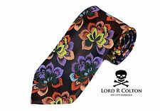 Lord R Colton Masterworks Tie - Bark New Born Woven Silk Necktie - $195 New