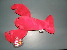 Ty Beanie Baby Rare Pinchers PVC Pellets 1993 Retired Brand New w/ Case
