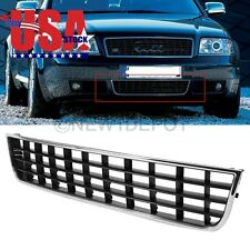 US Chrome Front Center Lower Grille Fender Bumper For Audi A6 C5 02 03 04 05 ND