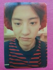 EXO K M CHANYEOL Official Photo Card 2nd Album EXODUS Black Ver. Photocard
