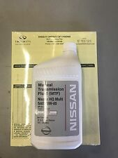 4 QUARTS OF 75W-85 OEM NISSAN INFINITI Manual Transmission Fluid - 999MP-MTF00NP