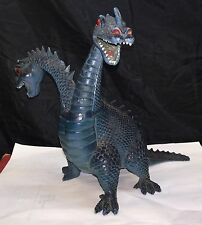 Vintage IMPERIAL 1983 DRAGONS KNIGHTS & DAGGERS Blue 2 Headed HYDRA