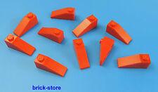 LEGO®  1x3 Dachstein rot / 10 Stück