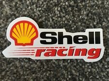 Shell Racing Long Classic Logo Sticker Decal Graphic