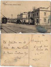 Tarjeta Postal. CADIZ.  Puerta de Tierra, Barriada Obrera. Tamaño 140 x 90 mm.