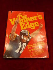 "1980 ""THE WINNER'S EDGE"" BOOK 'WHAT THE PROS SAY ABOUT SUCCESS' BY BOB OATES, JR"