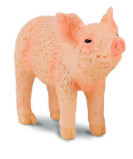 FREE SHIPPING | CollectA 88344 Standing Piglet Head Up Smelling - New in Package
