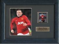 WAYNE ROONEY MANCHESTER UNITED FC FRAMED 35MM FILM CELL GREAT GIFT
