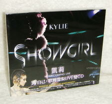 Kylie Minogue Showgirl Homecoming Live Taiwan 2-CD w/BOX