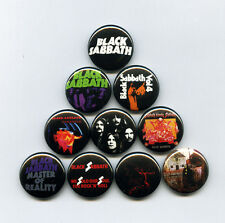 BLACK SABBATH - PINS / BUTTONS (ozzy poster record lp print vintage metal shirt)