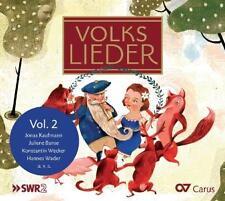 Volkslieder Vol.2 von Jonas Kaufmann,Juliane Banse,Konstantin Wecker,H. Wader..