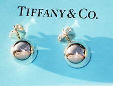 Tiffany & Co Ball 14mm Sterling Silver Bead Earrings