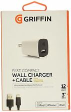 Griffin PowerBlock with Lightning cable, 12W - The fastest charger iPad - iPhone