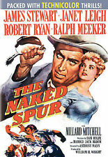The Naked Spur (DVD, 1953) James Stewart, Janet Leigh - LIKE NEW!
