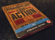 STEELBOOK BLU RAY LAST ACTION HERO LIMITED TO 2000 NEW // NEUF ( OOS SOLD OUT )