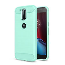 Shockproof Brushed Soft TPU Phone Case Cover For Motorola Moto G4 G4 Plus / Play