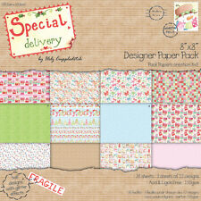 Special Delivery by Helz Cuppleditch 8x8 Paperl -Sample 12 x 8 x 8 Paper Pack