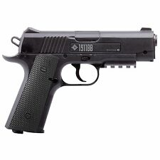 New! Crosman 1911 BB Pistol 4.5mm Caliber CO2 Powered Steel Barrel Airgun 40001