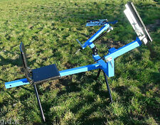 SEATED DOUBLE 3/4 COCK CLAY PIGEON TRAP,70M THROW,CLAY TARGET THROWER, CLAY TRAP