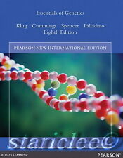 NEW w/ Color 3 Days US / CA Essentials of Genetics 8E Klug Cummings 8th Edition