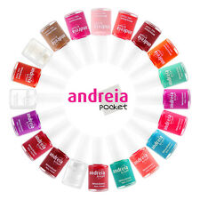ANDREIA NAIL POLISH hypoallergenic NAIL EXCLUSIVE ON EBAY LOT of 6 select colors