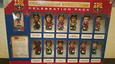 Corinthian prostars FC Barcelona Champions Of Europe 2006 incl. Iniesta spain