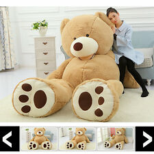 78'' Super Huge 200cm Teddy bear (only Cover) Plush Toy Shell (with Zipper) Gift