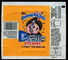Garbage Pail Kids Series 9 Stickers Wrapper #W54