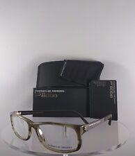 New Authentic Porsche Design P 8243 D Eyeglasses Carbon P'8243 Olive Brown