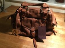 Patrick Cox Brown Leather Handbag. Authentic. RRP £210. BNWT. Perfect Condition.