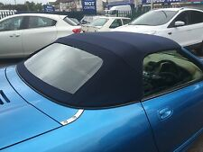MGF & MGTF  Mk1/2 Blue Mohair Hood & Plastic Window Section