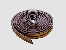 "New! 63602  M-D WINDOW RUBBER WEATHERSTRIP TAPE Self Adhesive Brown  5/16"" x 17'"