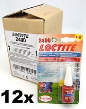 Caja De 12-Loctite 2400 medium la fuerza Hilo Lock & Sellador-Stud / nutlock