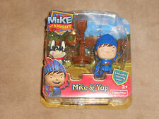 NEW, , MIKE THE KNIGHT MIKE & YAP FIGURES, FISHER PRICE