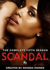 SCANDAL Season 5 DVD The Complete FIVE Series FIFTH BOX SET brand new sealed