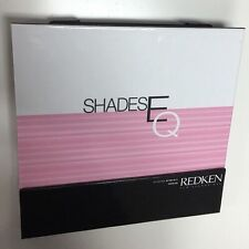 Redken Shades EQ Cream Hair Color Swatch Book NEW Shade Chart