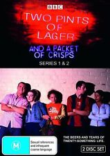 Two Pints Of Lager And A Packet Of Crisps : Series 3 (DVD, 2009) BRAND NEW 2DVD!