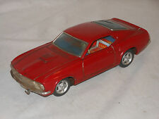 TAIYO - RUSHER FORD MUSTANG BOSS - VINTAGE TIN TOY TINPLATE - JAPAN - BULLIT