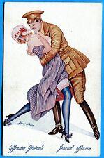 CPA: Offensive Générale - La Guerre en dentelles / Illustrateur: Sager / 14-18