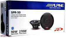 "Alpine SPR-50 Car Audio Coaxial Speakers (Pair) 5.25""  SPR50 5 1/4 """