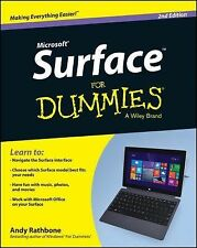 Surface For Dummies (For Dummies (Computer/Tech))