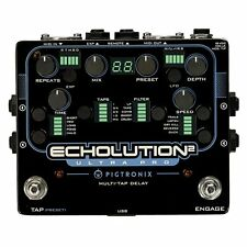 Pigtronix Echolution 2 Ultra Pro Delay Filter Pitch LFO Guitar Effect FX Pedal