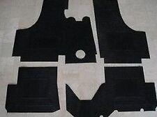 SET TAPPETI FIAT 500 D/F/L/R DAL 1965 SU MISURA GOMMA 4 PEZZI